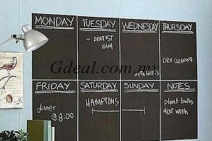 Self Adhesive Blackboard