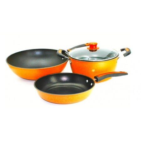 Set of 4 Non Stick Cookware