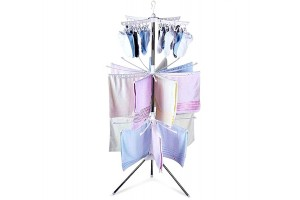 3 Tiers Foldable Cloth Hanger and Drying Racks