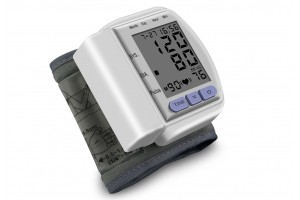 LCD Automatic Wrist Blood Pressure Monitor Medical Arm Meter Pulse (CK-102S)