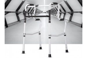 High Quality Foldable Stainless Steel Medical Aid Walker