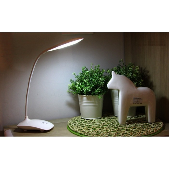 3 Level Brightness Led Touch Light Usb Charging Switch Small Desk Table Lamp Student Dormitory