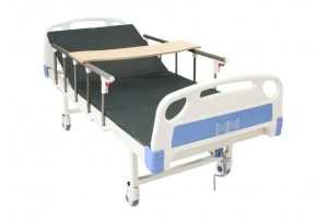 Manual Single-Crank Medical Care Bed Hospital Bed Home Care With Mattress
