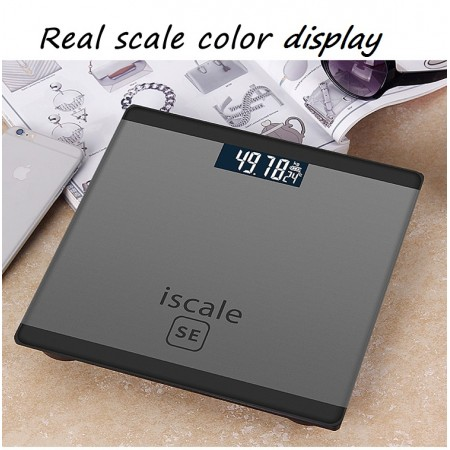 Iscale SE Weighing Machine Body Weight Measuring Electronic Digital Scale 180KG With LCD Display