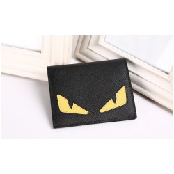 Popular Little Monster Eyes Wallets High Quality Leather Wallet Cartoon Wallet