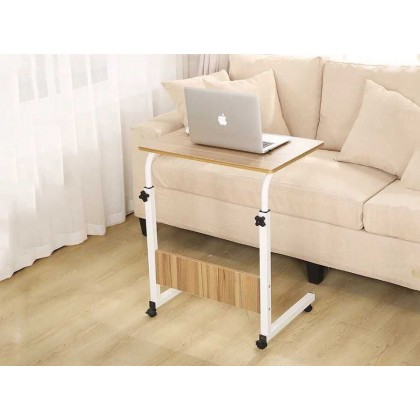 GTE Simple Portable Easily Lift Laptop Computer Desk Multifunctional Movable Lazy Tables Rotary Computer Desks - 2 Colors Available