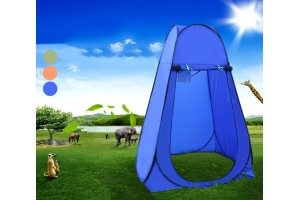 Portable Pop Up Tent Camping Beach Toilet Shower Dressing Lightweight Quick Changing Room Outdoor - 3 Colors Available