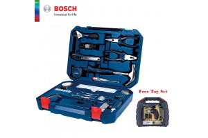 BOSCH 108-In-1 Multi-Function Household Tool Kit + FREE Toy Set (2607017446)