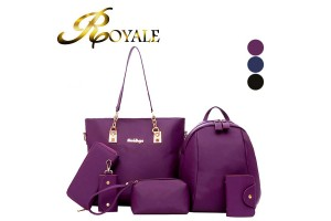 ROYALE 6-In-1 Multifunctional Waterproof Nylon Casual Fashion Bag (968#) - 3 Colors Available (RYL-204)