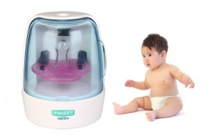 Baby Infant Pacifier Sterilizer UV Disinfection Nipple Sanitizer Care (MD-612)