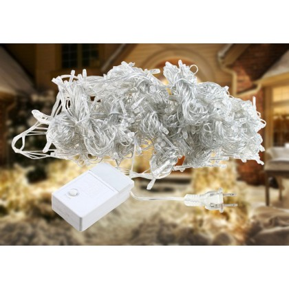 8 Modes Classic Decoration LED Christmas Lights - Cool White
