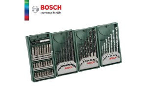 BOSCH Multipack 3+1 Mini-X-Line Multi Pack Drill And Driver Set (2607017071)