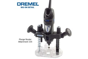 DREMEL Plunge Router Attachment 335 (26150335JA)