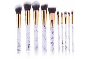 10pcs Soft Makeup Brush Set Foundation Powder Brush Beauty Make Up Tools (CM-2864)