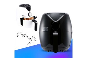 Multifunctional Electric Deep Fryer 2.5L Large Capacity Oil-free Air Fryers Home Frying Machine