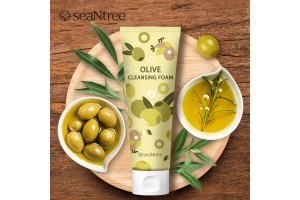 seaNtree Olive Cleansing Foam 120ml (Moisturizing Cleansing) - SNT10479
