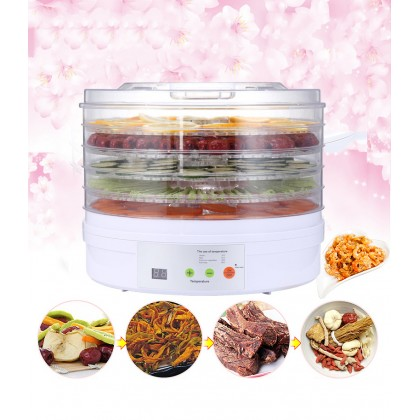GTE 15L Smart Dryer Household Food Vegetables Pets Meat Herbs Dried Fruit Dried Fruit Machine (350BT)