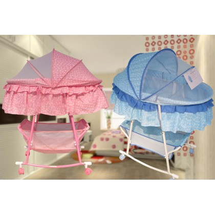 Multifunctional Baby Rocking Cradle Bed Baby Shaker With