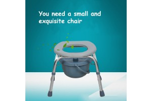 Potty Chair Old Patients Mobile Toilet Adult Pregnant Women Metal Toilet Commode Chair Disabled
