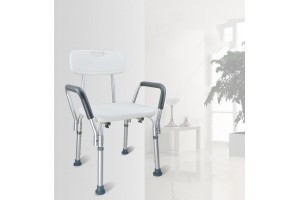 Non-slip Shower Stool Chair Seat Mobility Bathing Aid Height Adjustable Bath Chair Adult Pregnant