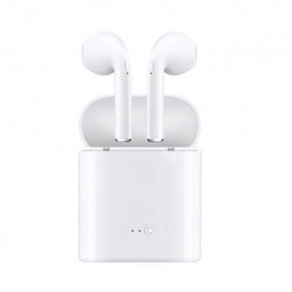 i7S TWS Earbuds In Ears Wireless Bluetooth Double Earphones Twins Stereo Music Headset Compatible IOS And Androids With Charging Case