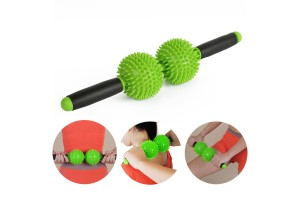 3D Self Handheld Stimulating Fitness Body Slimming Cellulite Blaster Health Care Relaxation Neck Back Waist Leg Massage Roller Stick