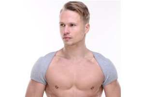 Bamboo Charcoal Shoulder Warmer Sleeping Shoulder Neck Hot Compress Self-Heating Shoulder Vest Shoulder Cold Spring Summer Men And Women