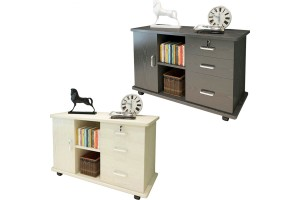 File Cabinets Push-pull Drawers Mobile Office Cabinets With Lock Storage Cabinets Bedside Tables (FC004)
