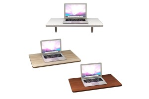 Household Simple Wall Table Folding Dining Wall Hanging Desk Small Apartment Wall-to-wall Table Wall Hanging Wall Computer Desk (056)