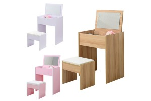 Classic Style Dresser Bedroom Small Type Mini Princess Simple Modern Multifunctional Make-up Table Solid Wood (122-51)