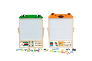 Children's Educational Magnetic Double-sided Drawing Board Multi-function Learning Writing Painting Graffiti Small Blackboard Baby Wood Painting