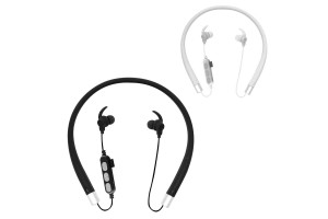Universal MS-T10 Bluetooth Wireless Memory Card MP3 Stereo Rechargeable Running In-Ear Earphone Headphone Around Neck Band Design