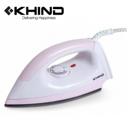KHIND Electric Iron Light Weight Non-Stick Soleplate (EI402)