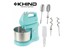 KHIND Detachable Stand Mixer 300W Self Rotating Mixing Bowl With Turbo Function (SM280)