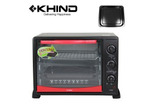 KHIND 25L Electric Oven with Rotisserie Handle (OT2501)