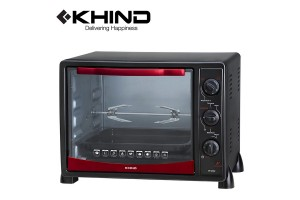 KHIND 25L Electric Oven With Rotisserie Handle (OT2502)