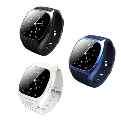 Smart Bluetooth Watch Smartwatch M26 with LED Display Music Player Pedometer for Android IOS Mobile Phone