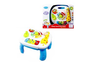 Baby Music Table Toy Kids Learning Study Playing Toy Musical Instruments Educational Toys Learning Table