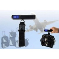 Blue Lit LED Digital Luggage Scale