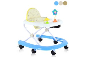 Simple Safe Fun Lightweight Portable Topple Free Folding U Shape Baby Learning Walker