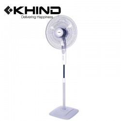 """KHIND 3 Blades 16"""" Stand Fan  3 Speed Adjustable Height (SF1688E)"""