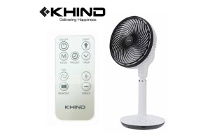 """KHIND Air Circulator Standing Fan 9"""" With Remote Control (JAC91RN)"""