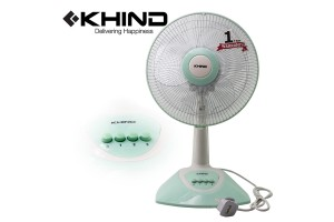 """KHIND 12"""" Table Fan Built in Safety Thermal Fuse (TF1230)"""