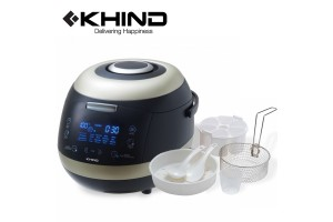 KHIND Multi Cooker 5.0L Digital Display with Ceramic Coated Inner Pot (MC50D)