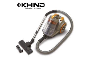 KHIND Vacuum Cleaner 1600W Bagless 200W Suction Power (VC8210)