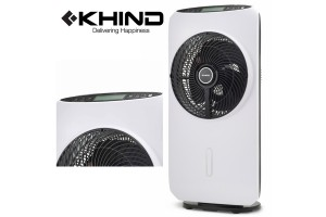 KHIND Mist Fan Energy Saving Misting Removable Water Tank Remote Controller (MF160R)