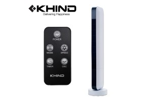 KHIND Tower Fan 50W with Remote Control (FD301R)
