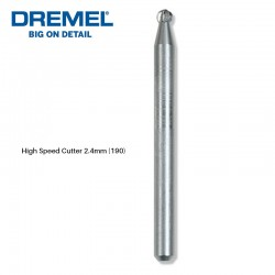 DREMEL 190 High Speed Cutter For Carving & Engraving & Routing 2.4mm (2615000190)