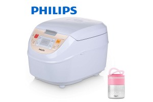 PHILIPS Rice Cooker + Free Lunch Box (HD3130/60)