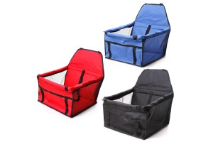 Comfortable Pets Safety Car Seat Breathable Mesh Carrier See Through Windows Basket Accessories For Small Pets